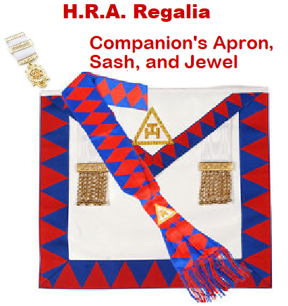 Royal Arch Chapter Masonic Apron Fraternal Organizations Collectibles